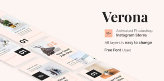 Free Verona Instagram Stories Template