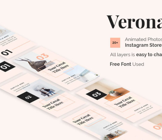 Free Verona Instagram Stories Template