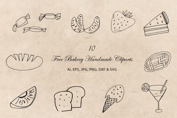 Free Bakery Handmade Cliparts