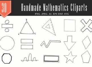 25+ Free Handmade Mathematics Cliparts