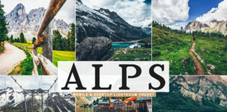 Free Alps Lightroom Preset
