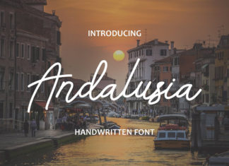 Free Andalusia Handwritten Font