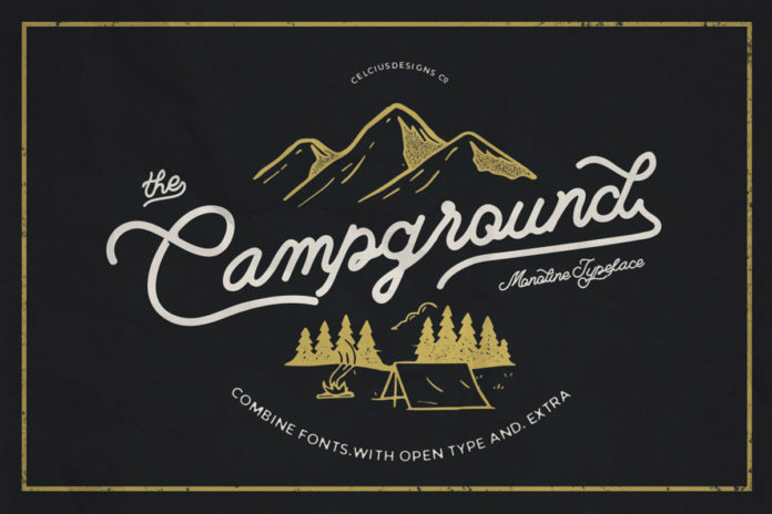Free Campground Script Font