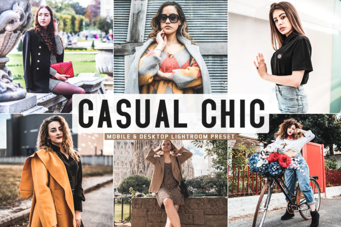 Free Casual Chic Lightroom Preset