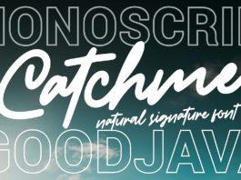 Free Catchme Signature Font