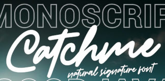 Free Catchme Signature Font