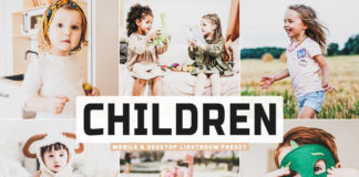 Free Children Lightroom Preset