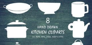 Free Handmade Kitchen Cliparts