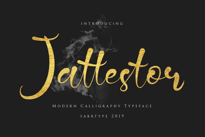 Free Jattestor Script Font