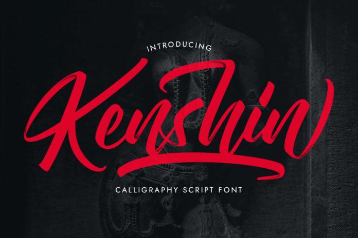 Free Kenshin Calligraphy Font