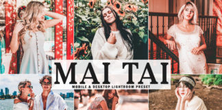 Free Mai Tai Lightroom Preset