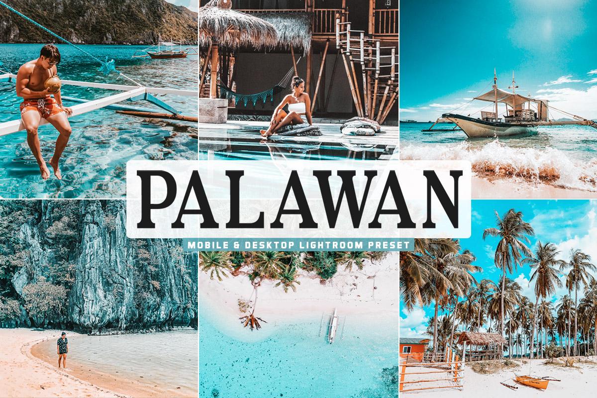 Free Palawan Lightroom Preset