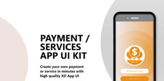 Free Payment Services App UI Kit