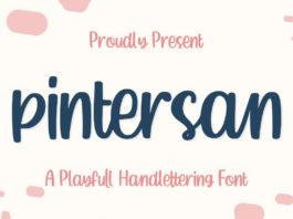 Free Pintersan Handlettering Font
