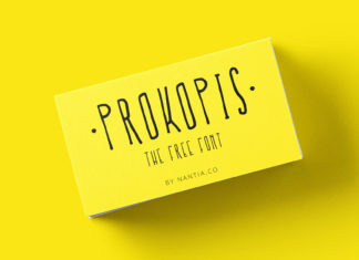 Free Prokopis Handmade Font