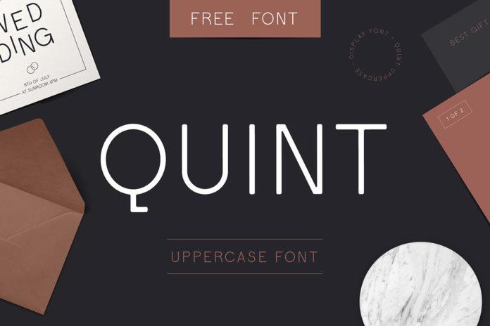 Free Quint Sans Serif Font