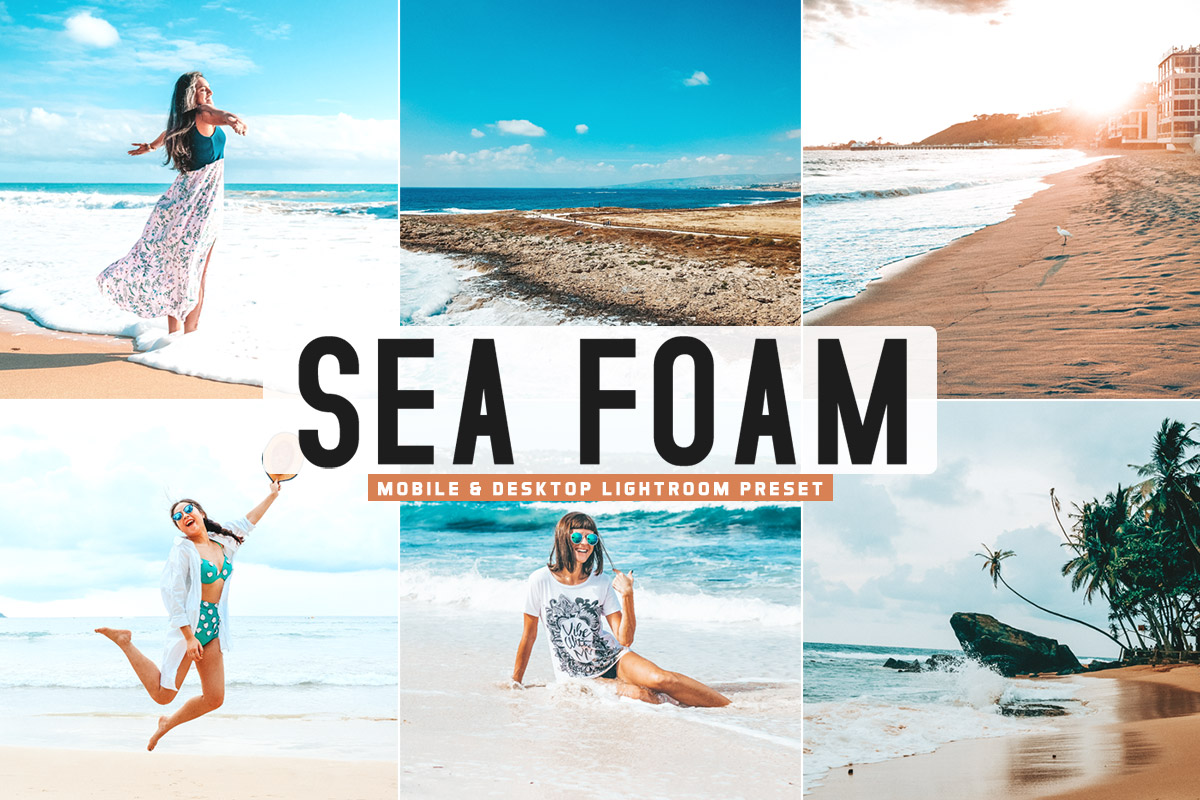 Free Sea Foam Lightroom Preset