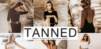 Free Tanned Lightroom Preset