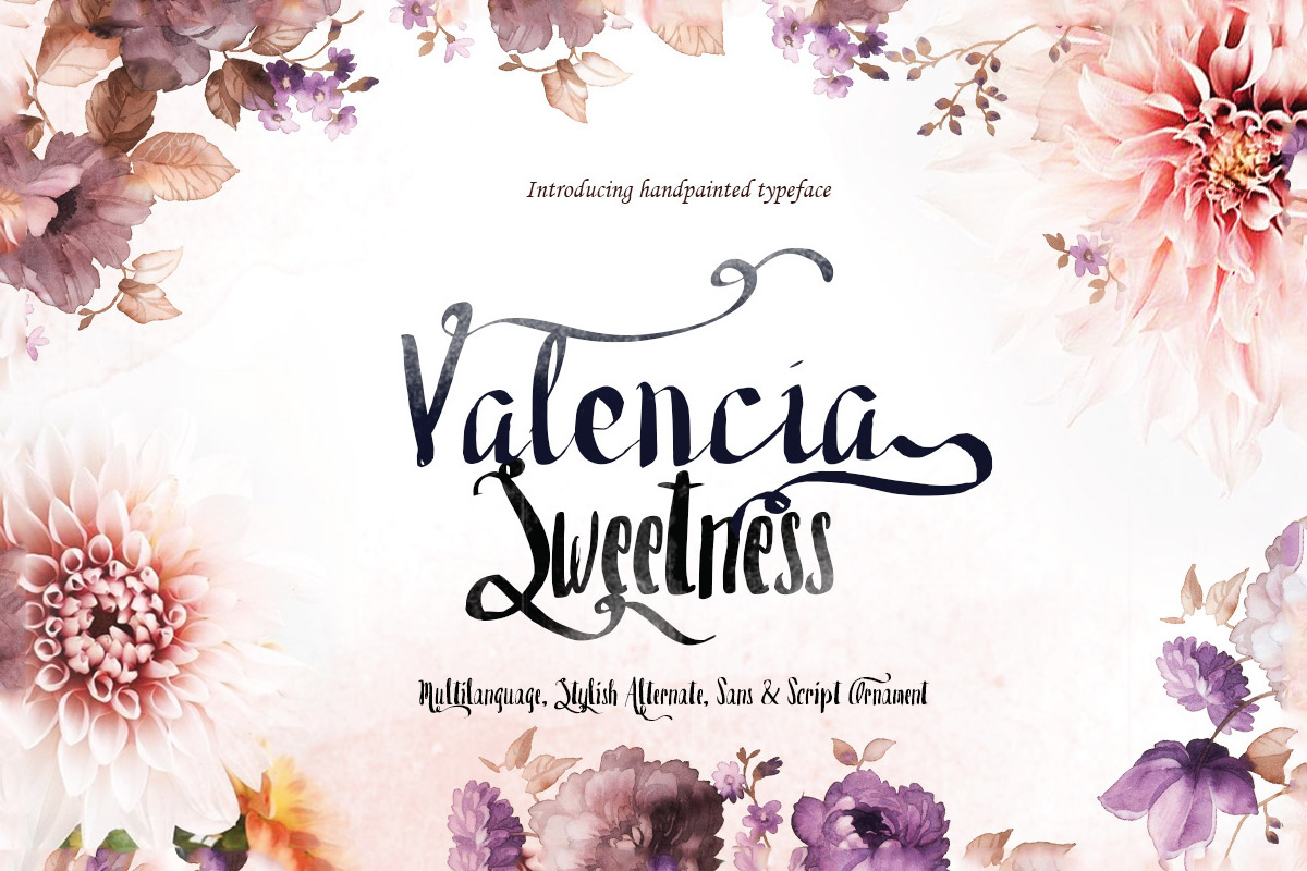 Free Valencia Sweetness Duo Font