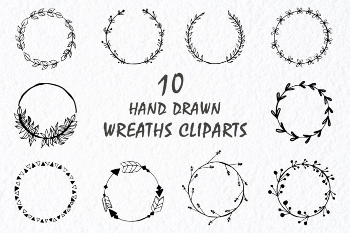 Free Wreaths Handmade Cliparts