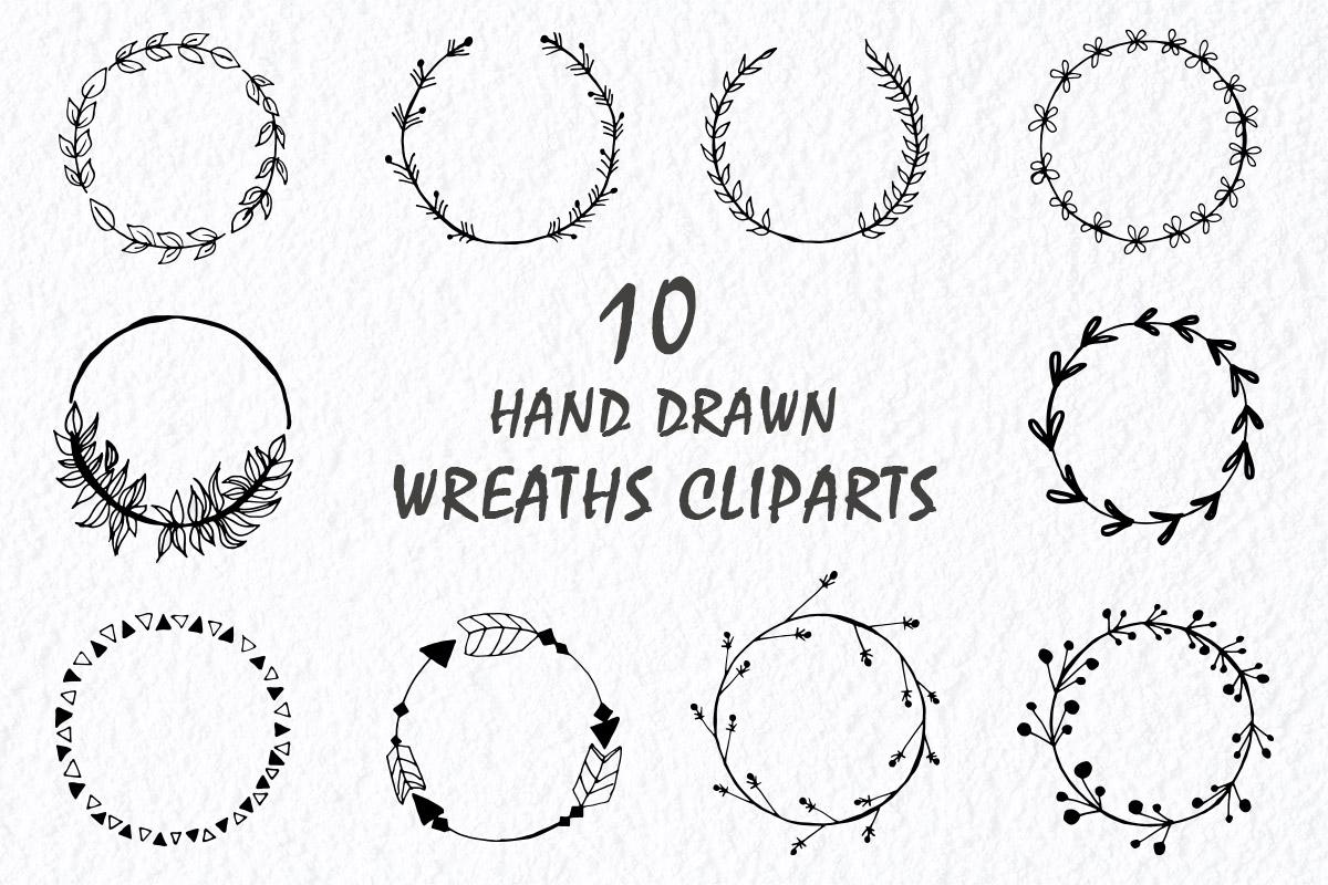 Free Wreaths Handmade Cliparts