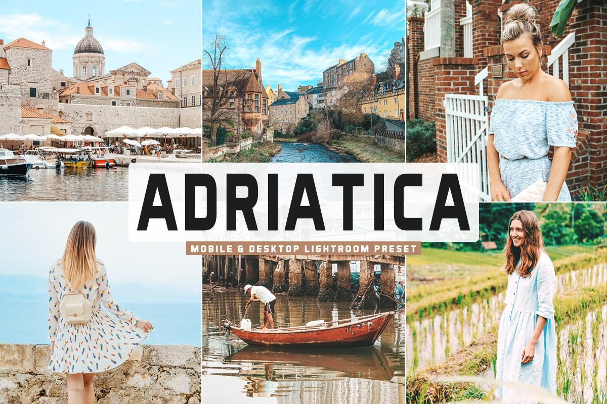 Free Adriatica Lightroom Preset