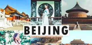 Free Beijing Lightroom Preset