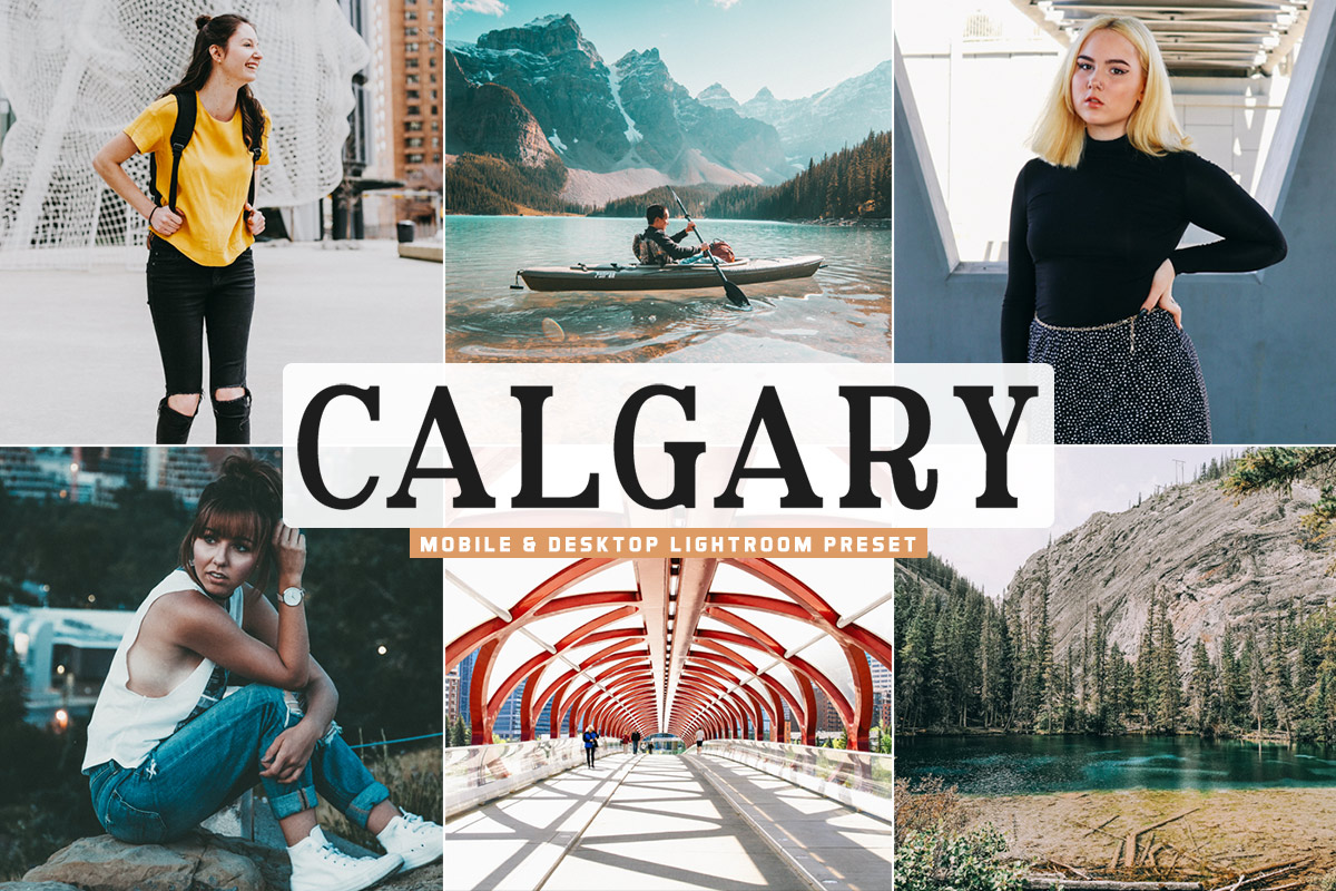 Free Calgary Lightroom Preset