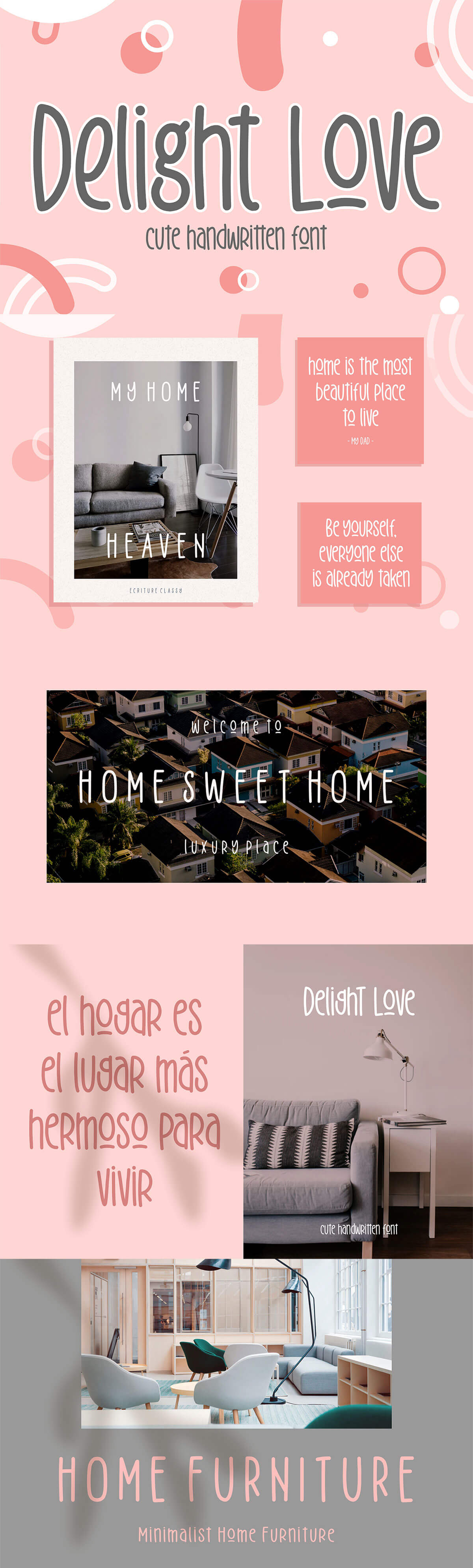 Free Delight Love Handwritten Font