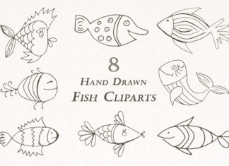 Free Handmade Fish Cliparts