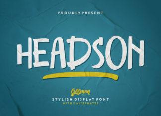 Free Headson Display Font