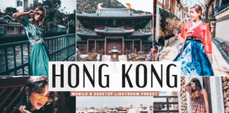 Free Hong Kong Lightroom Preset