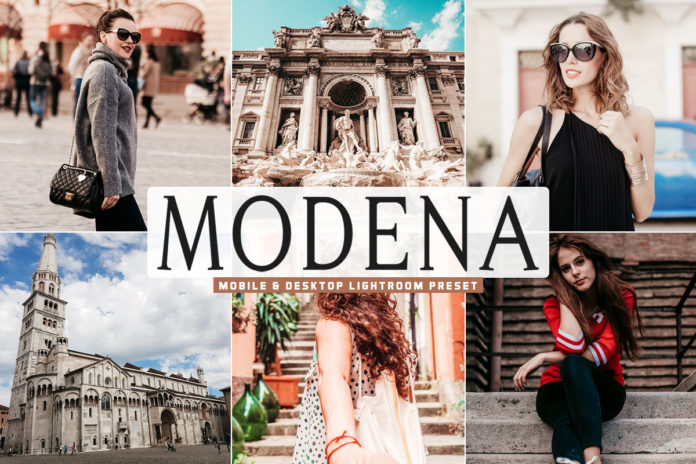 Free Modena Lightroom Preset
