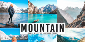 Free Mountain Lightroom Preset