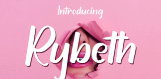 Free Rybeth Handmade Font