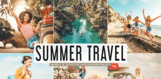 Free Summer Travel Lightroom Preset