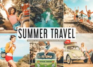 Free Summer Travel Lightroom Preset