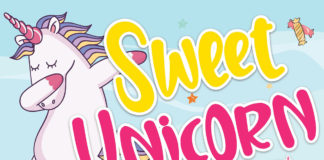 Free Sweet Unicorn Display Font