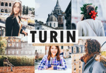 Free Turin Lightroom Preset