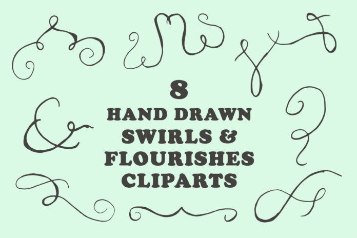 Free Swirls & Flourishes Cliparts