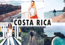 Free Costa Rica Lightroom Preset