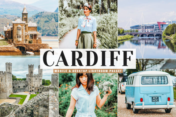 Free Cardiff Lightroom Preset