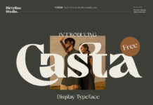 Free Casta Display Font