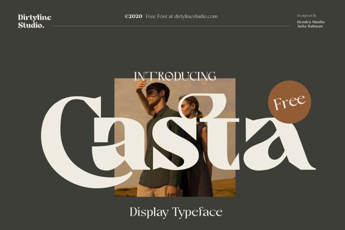 Free Casta Display Font