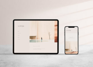 Free Digital Mockup Template