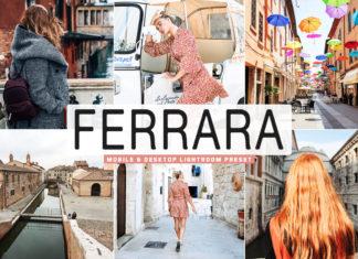 Free Ferrara Lightroom Preset