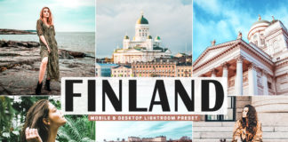Free Finland Lightroom Preset