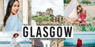 Free Glasgow Lightroom Preset