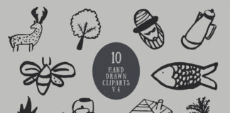 Free Handmade Miscellaneous Cliparts V4