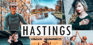 Free Hastings Lightroom Preset